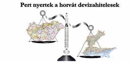 Pert nyertek a horvát devizahitelesek
