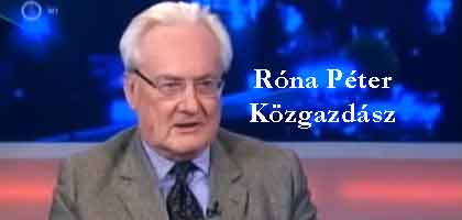 """Izgalmas vita Róna Péter közgazdász és Felcsúti Péter a Bankszövetség volt elnöke között. Hitel-e a """"deviza-hitel"""""""