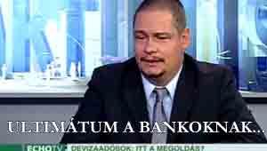 Ultimátum a bankoknak-Falus Zsolt-Napi aktuális