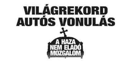 Kásler Árpád autós vonulás 2013 október 20