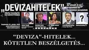 Kötetlen beszélgetés-Kásler Árpád, dr. Damm Andrea, Barabás Gyula, Doubravszky György, a pénzügyi jogok biztosa