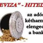 Devizahitelesek: az adósság kétharmadát elengednék a bankok