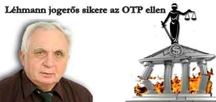 Devizaperek: Léhmann első jogerős sikere az OTP ellen