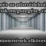 Budapesti Főügyészség Feljelentés az adatvédelmi törvény 6. §-ának megszegése, uzsora büntettének elkövetése