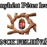 NCK FELHÍVÁS + Menyhért Péter levele