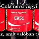 A Coca-Cola nevű vegyi koktél: vagyis az, amit valóban tartalmaz