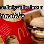 Rém kínos helyzetbe hozta magát a McDonald's