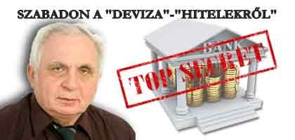 """DR.LÉHMANN-SZABADON A """"DEVIZA""""-""""HITELEKRŐL"""""""