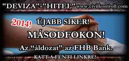 2014-ÚJABB SIKER MÁSODFOKON!