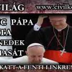 FERENC PÁPA KIRÚGTA XVI. BENEDEK BIZALMASÁT