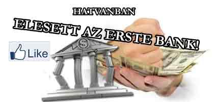 ELESETT AZ ERSTE BANK HATVANBAN. A Kúria nem állt a bankok oldalára, amit legékesebben a 10/2013. számú gazdasági elvi határozata bizonyít.
