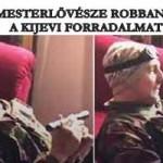 A NATO MESTERLÖVÉSZE ROBBANTOTTA KI A KIJEVI FORRADALMAT.