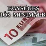EGYSÉGES UNIÓS MINIMÁLBÉR