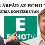 KÁSLER ÁRPÁD AZ ECHO TV-BEN A KÚRIA DÖNTÉSE UTÁN!