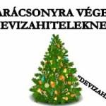 """KARÁCSONYRA VÉGE A """"DEVIZAHITELEKNEK"""""""