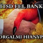 SZÓLÍTSD FEL BANKODAT PÉNZFORGALMI HIÁNYPÓTLÁSRA!
