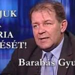 BARABÁS GYULA - VÁRJUK A KÚRIA DÖNTÉSÉT!