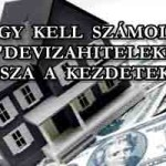 """ÍGY KELL SZÁMOLNI A """"DEVIZAHITELEKET"""" – VISSZA A KEZDETEKHEZ"""