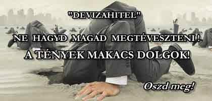 """""""DEVIZAHITEL"""". NE HAGYD MAGAD MEGTÉVESZTENI! A TÉNYEK MAKACS DOLGOK!"""