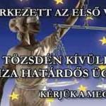 TÖZSDÉN KÍVÜLI DEVIZA HATÁRDŐS ÜGYLET-AZ ELSŐ VÁLASZ AZ EURÓPAI UNIÓ BÍRÓSÁGA HIVATALÁTÓL