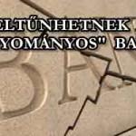 """ELTŰNHETNEK A """"HAGYOMÁNYOS"""" BANKOK"""