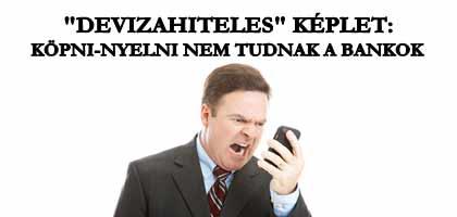 """""""DEVIZAHITELES"""" KÉPLET: KÖPNI-NYELNI NEM TUDNAK A BANKOK."""