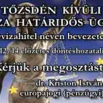 DEVIZAHITEL NÉVEN BEVEZETETT BEFEKTETÉSI ÜGYLET – EU BÍRÓSÁG – ALPERESEK ÍRÁSBELI ÉSZREVÉTELE