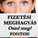 FIZETÉSI MEGHAGYÁS - OSZD MEG! FONTOS!