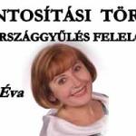 FORINTOSÍTÁSI TÖRVÉNY-EZ AZ ORSZÁGGYŰLÉS FELELŐSSÉGE!