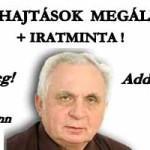 VÉGREHAJTÁSI ZÁRADÉKKAL INDULT VÉGREHAJTÁSOK MEGÁLLÍTÁSA - Dr. Léhmann György.