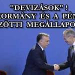 """""""DEVIZÁSOK"""" ITT A KORMÁNY ÉS A PÉNZVILÁG KÖZÖTTI MEGÁLLAPODÁS!"""