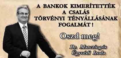 A BANKOK KIMERÍTETTÉK A CSALÁS TÖRVÉNYI TÉNYÁLLÁSÁNAK FOGALMÁT! - OSZD MEG!