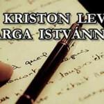 DR. KRISTON LEVELE VARGA ISTVÁNNAK