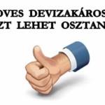 NA, KEDVES DEVIZAKÁROSULTAK, EZT LEHET OSZTANI!