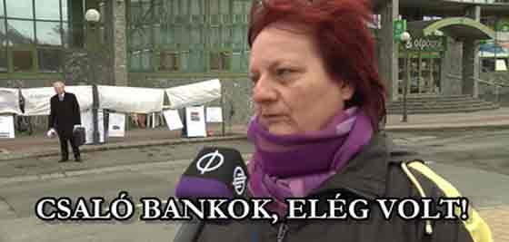 CSALÓ BANKOK, ELÉG VOLT!