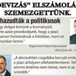 """""""DEVIZÁS"""" ELSZÁMOLÁS - SZEMEZGETTÜNK. NO COMMENT."""