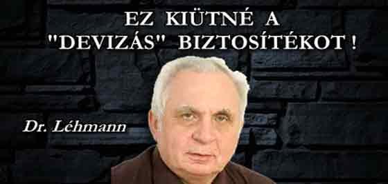 """EZ KIÜTNÉ A """"DEVIZÁS"""" BIZTOSÍTÉKOT - BEAVATKOZÁS AZ MNB PERÉBE!"""