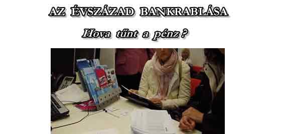 """AZ ÉVSZÁZAD BANKRABLÁSA MAGYARORSZÁGON - """"DEVIZAHITELES"""" HOLOKAUSZT."""