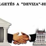 """BESZÉLGETÉS A """"DEVIZA""""-HITELRŐL."""