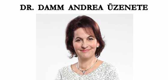 DR. DAMM ANDREA ÜZENETE.