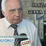 GULYA TIBOR TEVÉKENYSÉGÉRŐL - DR. LÉHMANN GYÖRGY.