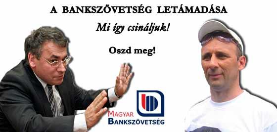 A BANKSZÖVETSÉG FÉLPÁLYÁS LETÁMADÁSA.