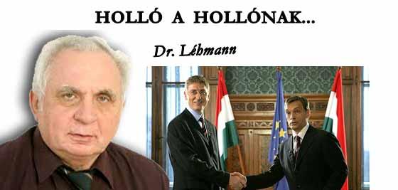 HOLLÓ A HOLLÓNAK...