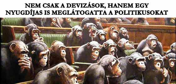 NEM CSAK A DEVIZÁSOK, HANEM EGY NYUGDÍJAS IS MEGLÁTOGATTA A POLITIKUSOKAT.