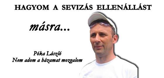 HAGYOM A SEVIZÁS ELLENÁLLÁST MÁSRA!