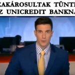 DEVIZAKÁROSULTAK TÜNTETTEK AZ UNICREDIT BANKNÁL.