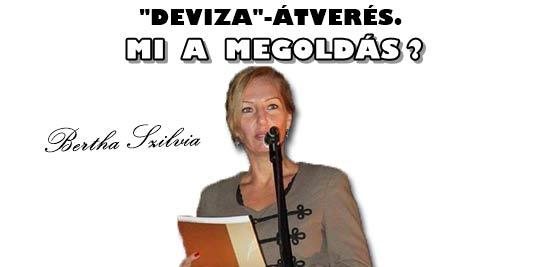 """""""DEVIZA""""-ÁTVERÉS. MI A MEGOLDÁS?"""