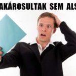 A DEVIZAKÁROSULTAK SEM ALSZANAK!