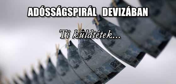 ADÓSSÁGSPIRÁL DEVIZÁBAN.