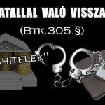 HIVATALLAL VALÓ VISSZAÉLÉS (Btk.305.§)